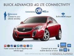 2015 Buick Models will be equipped with OnStar 4G LTE