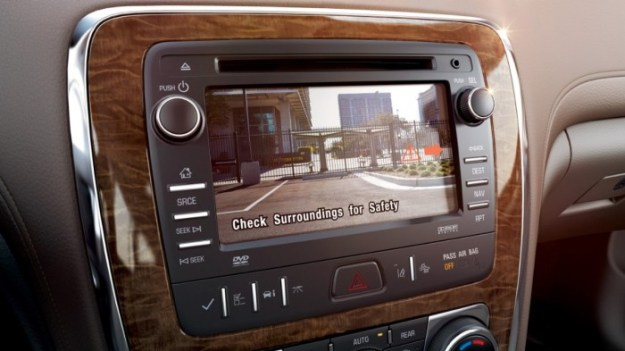All 2015 Buick Models to Come Standard with Rearview Cameras