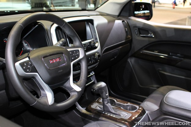 2015 Canyon interior design