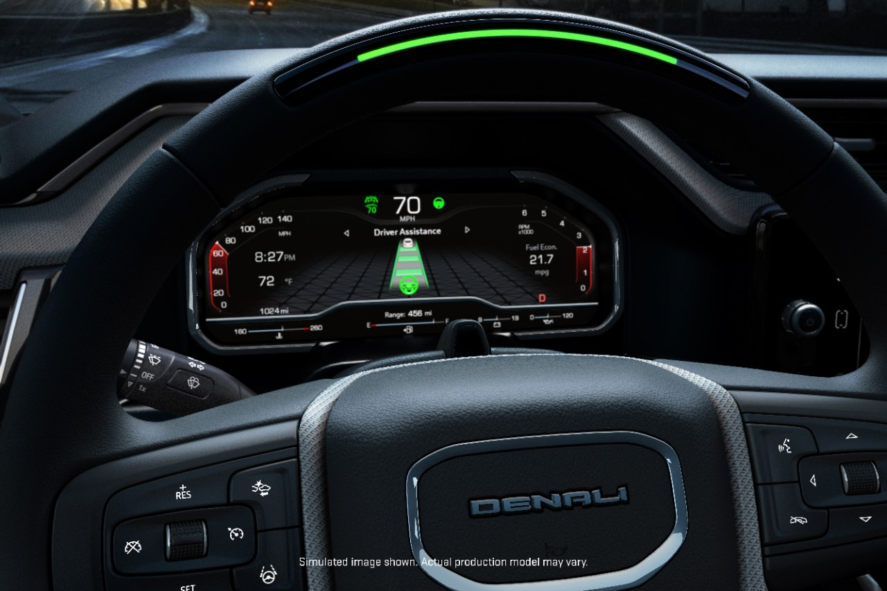 Super Cruise Tech Added To 2022 Sierra Denali | Mitchell Buick GMC | San Angelo, TX