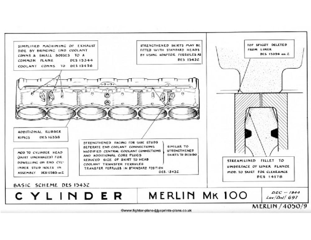 medium resolution of rolls royce merlin engine mk 100 cylinders travel through buick buick factory