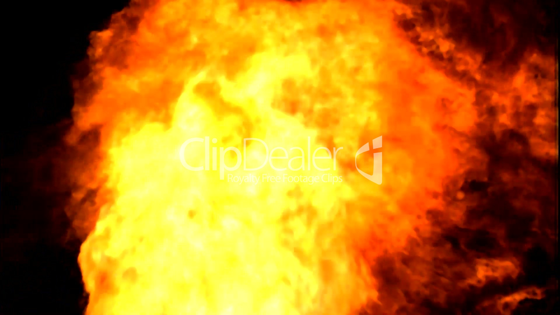 3 Fire animation 3 Royaltyfree video and stock footage