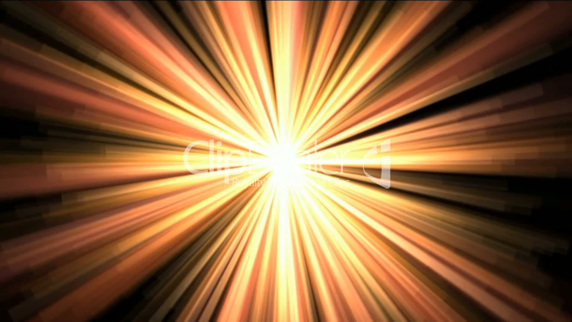 Gold Rays Light Flare Sunlight Royalty Free Video And