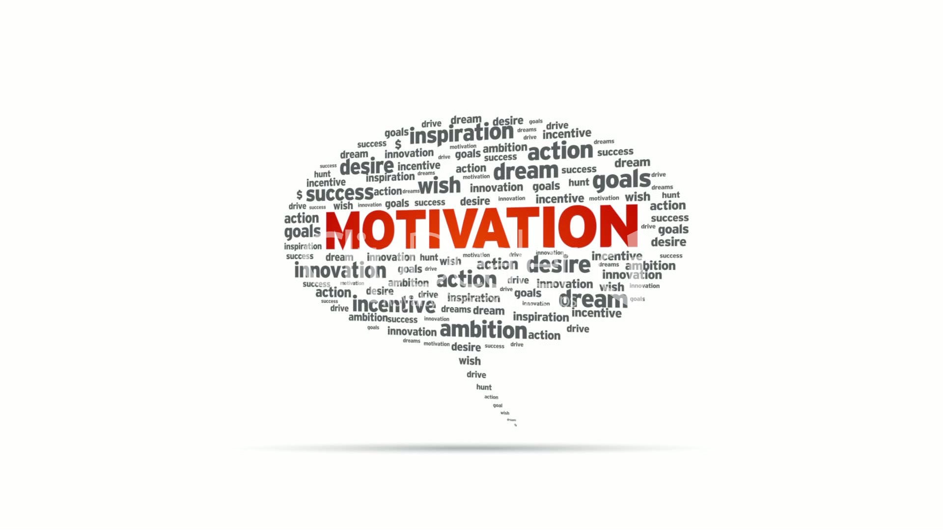 Motivation Speech Bubble Royalty Free Video And Stock Footage