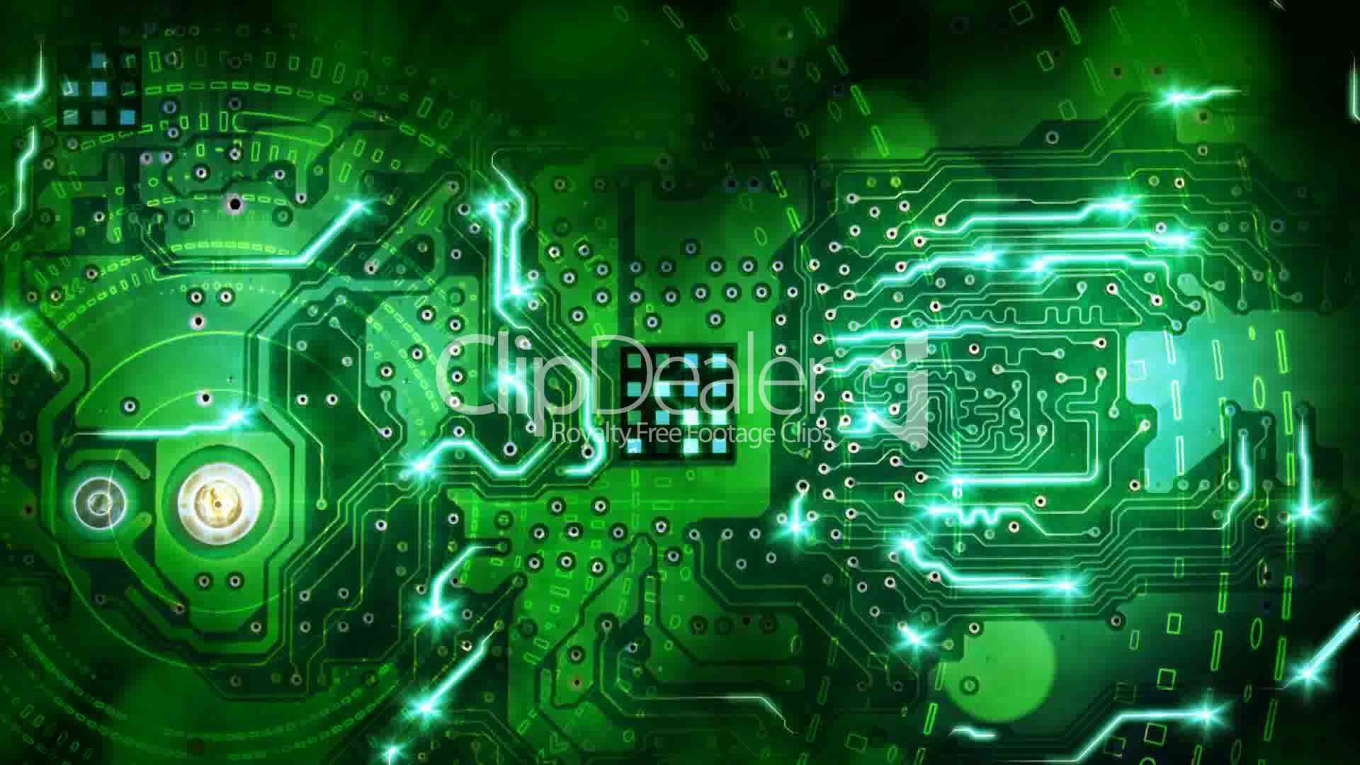 Green Circuit Board Royalty Free Stock Images Image 18379039