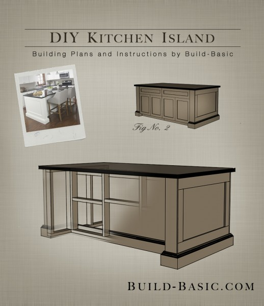 planning a kitchen island lowes ceiling lights build diy basic building plans by buildbasic www