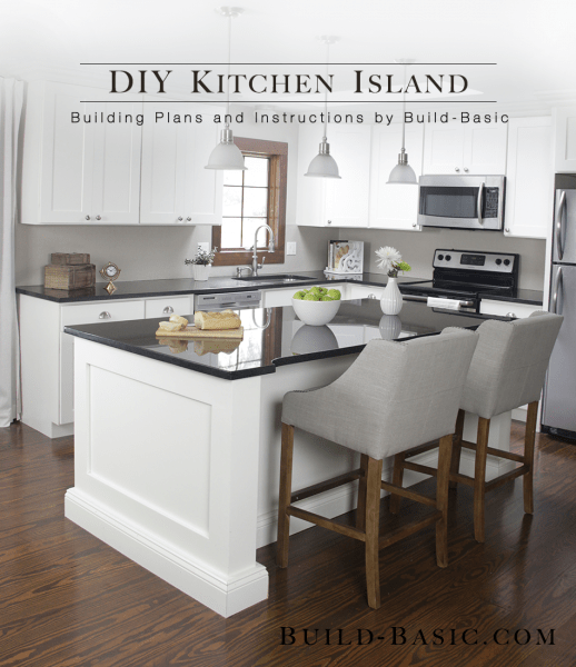 premade kitchen islands stacked stone outdoor build a diy island basic