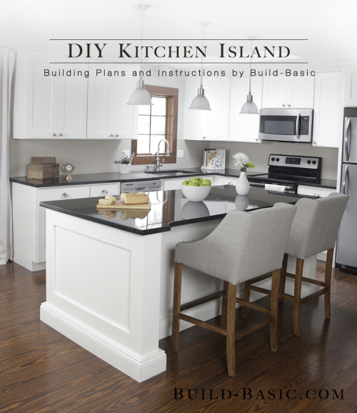 small resolution of build a diy kitchen island