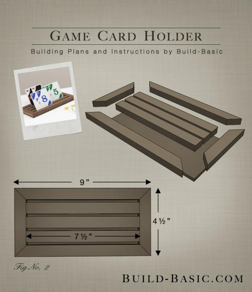 Build A Game Card Holder ‹ Build Basic