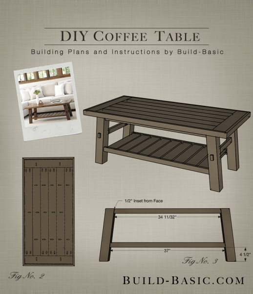 Build a DIY Coffee Table  Build Basic