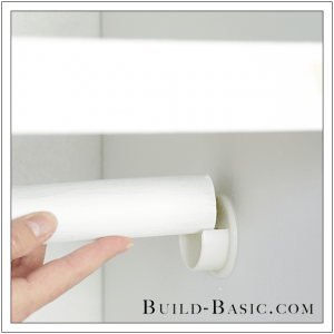 The Build Basic Custom Closet System Adjustable Shelves