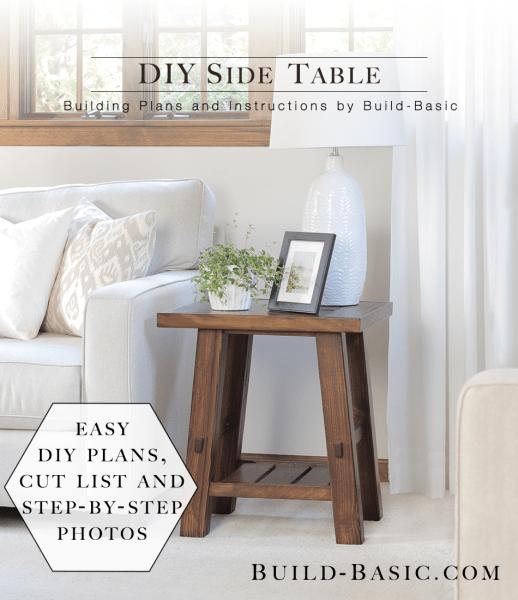 build a diy side table build basic