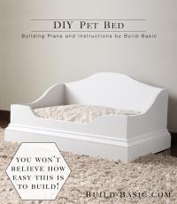 DIY Pet Bed  Build Basic