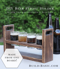 Build a DIY Beer Flight Holder  Build Basic