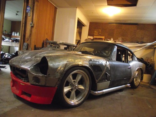 small resolution of triumph gt6 with jaguar v12 power