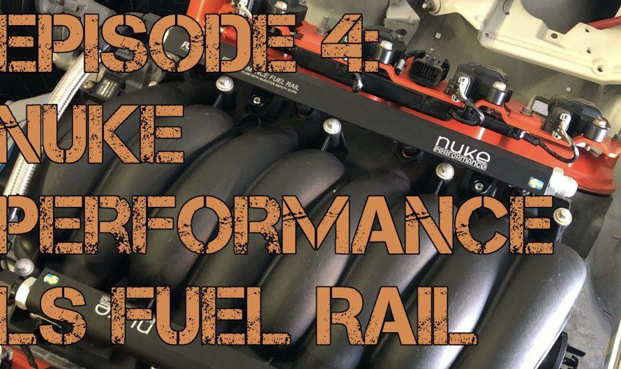 BMW LS3 Widebody Track Car Episode 4: Nuke LS Fuel Rail & Let's Steer!