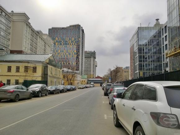 3-й Люсиновский переулок