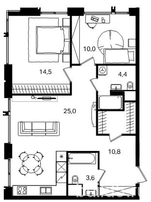жк level павелецкая, level павелецкая апартаменты, левел павелецкая