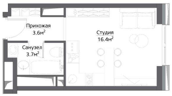 план студии