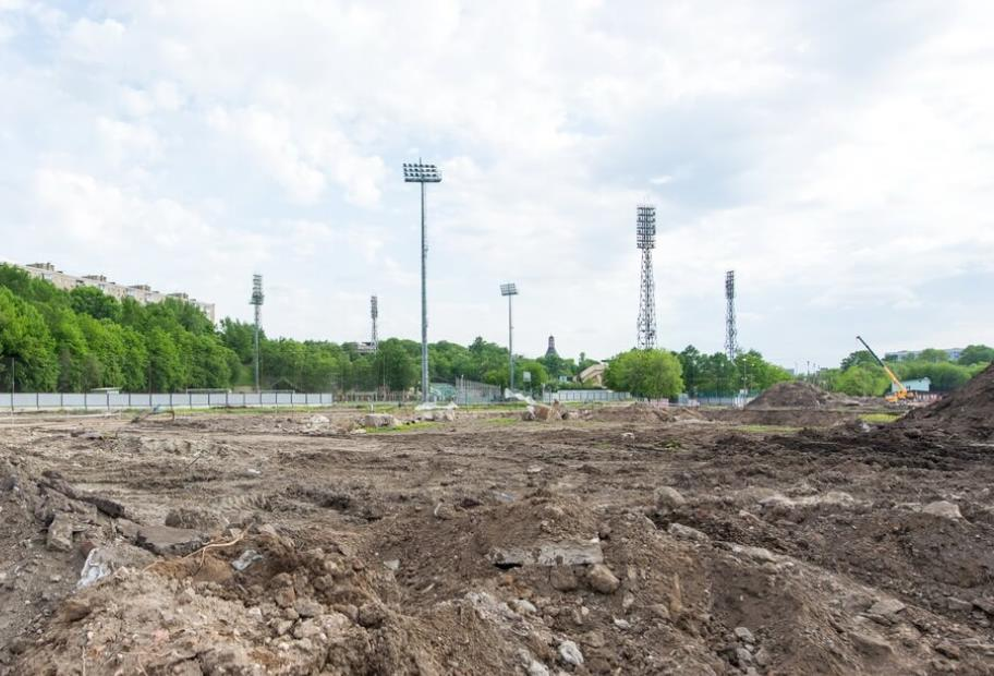 стройплощадка ЖК RiverSkyв мае 2019