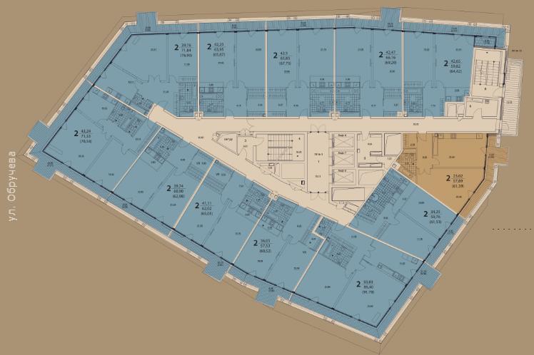 жк призма план этажа