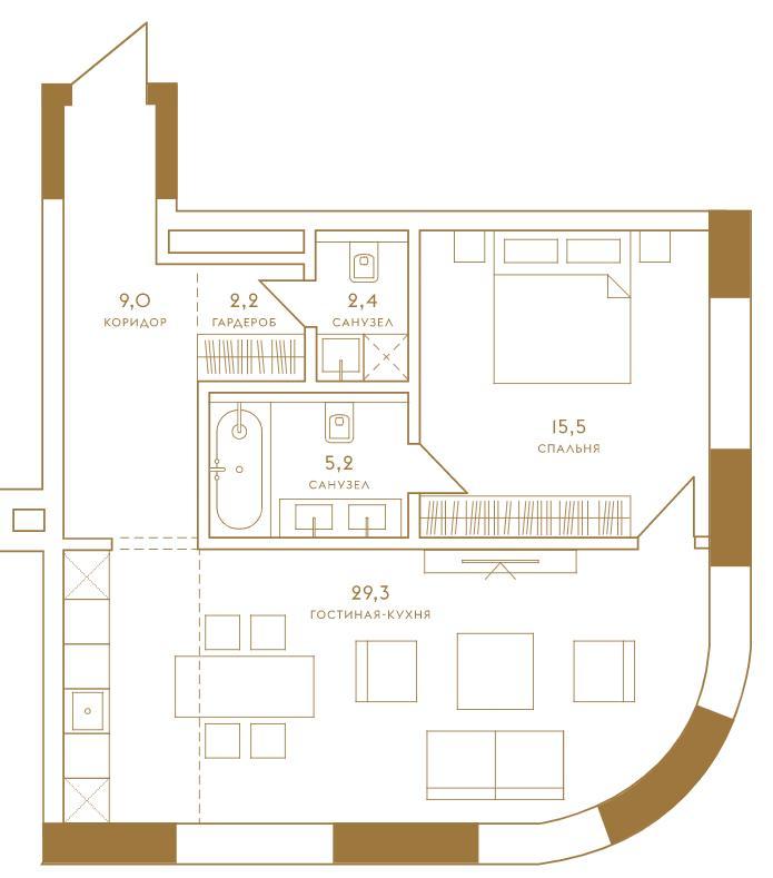 жк композиция 24 планировки