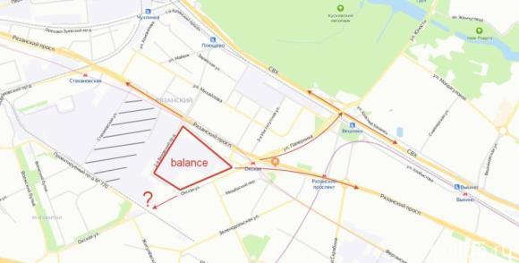 ЖК Баланс (Balance) на карте