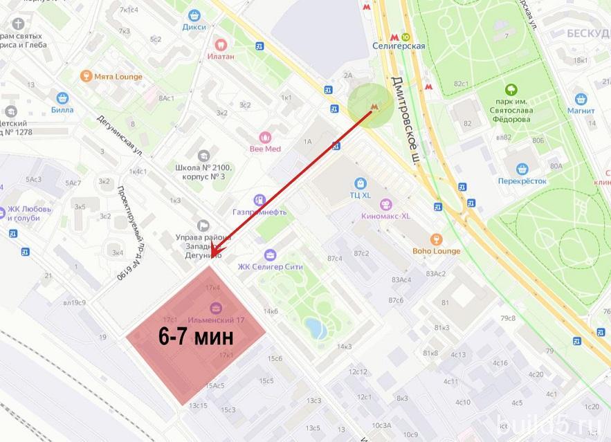 жк ильменский 17 на карте