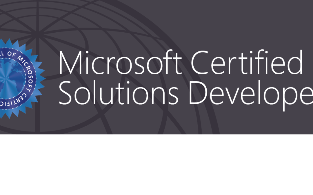 MCSD: Azure Solutions Architect Certification