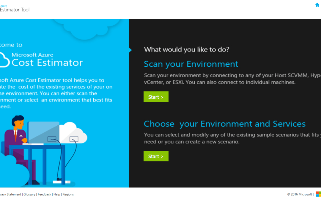 Microsoft Azure Cost Estimator Tool