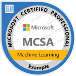 MCSA: Machine Learning Certification from Microsoft 1