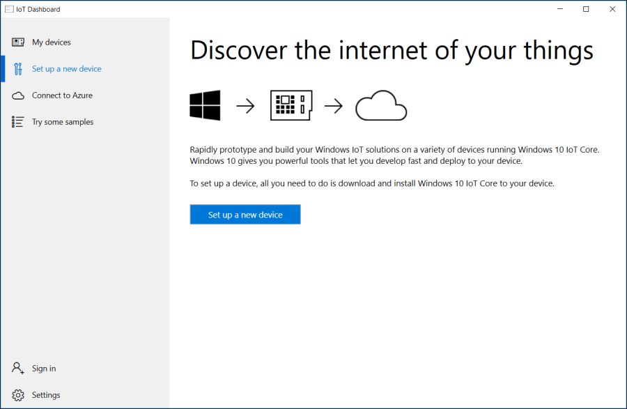 Setup Raspberry Pi with Windows 10 IoT Core 1