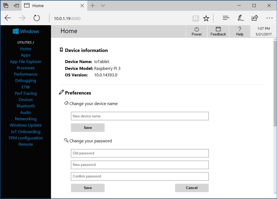 Setup Raspberry Pi with Windows 10 IoT Core 10