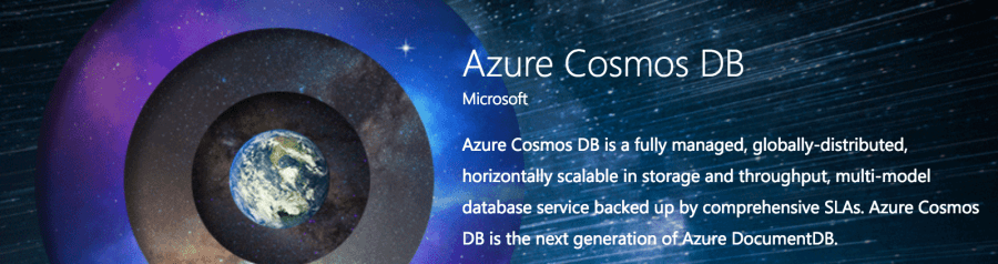 CosmosDB: The New DocumentDB NoSQL Database in Microsoft Azure