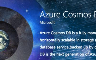 CosmosDB: The New DocumentDB NoSQL Database in Microsoft Azure