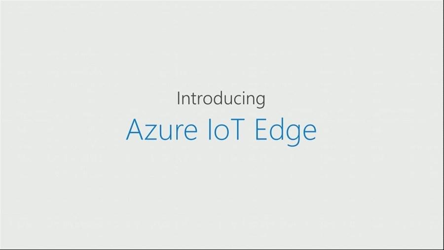 Announcing Azure IoT Edge
