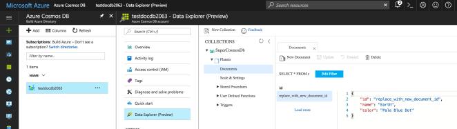 CosmosDB: The New DocumentDB NoSQL Database in Microsoft Azure 3