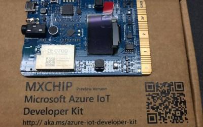 Azure IoT Developer Kit Ready for Pre-Order