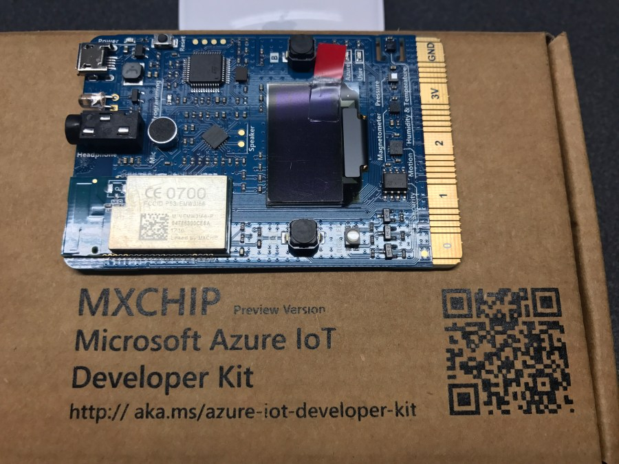 Azure IoT Developer Kit Preview Started Shipping 1