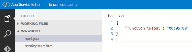Azure Functions: Extend Execution Timeout Past 5 Minutes 3
