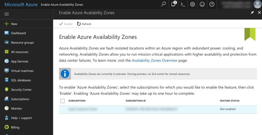 Azure Regions and Availability Zones 4