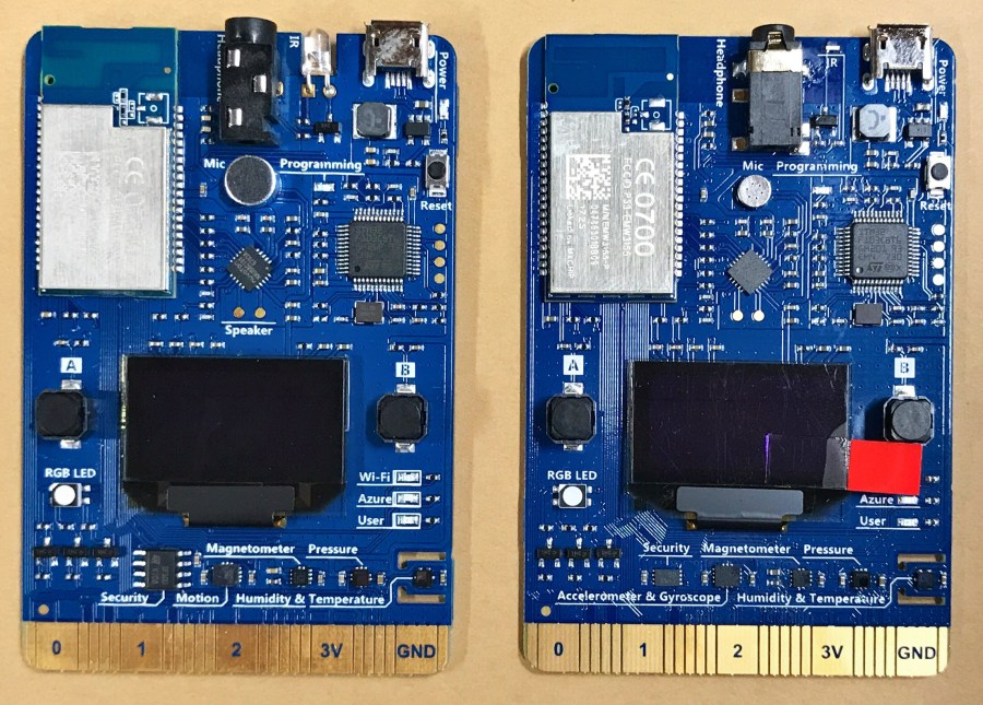 Azure IoT Developer Kits (AZ3166) Have Arrived 3