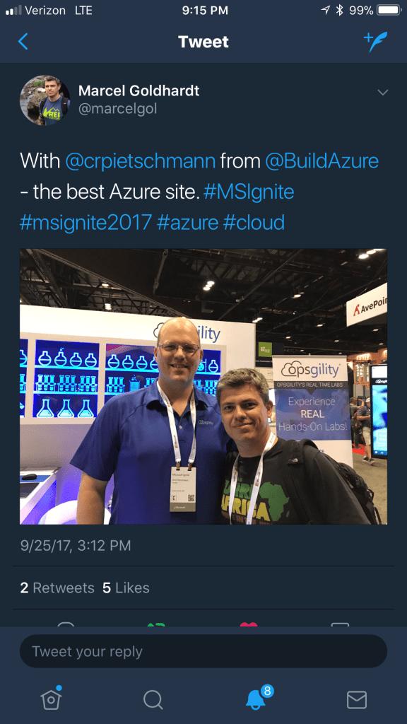 Azure Weekly: Oct 2, 2017 - Ignite 2017 Wrapup / Summary Edition 2