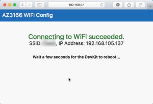 Azure IoT DevKit: Configure Wifi Connectivity - No Wifi? 5