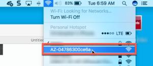 Azure IoT DevKit: Configure Wifi Connectivity - No Wifi? 3