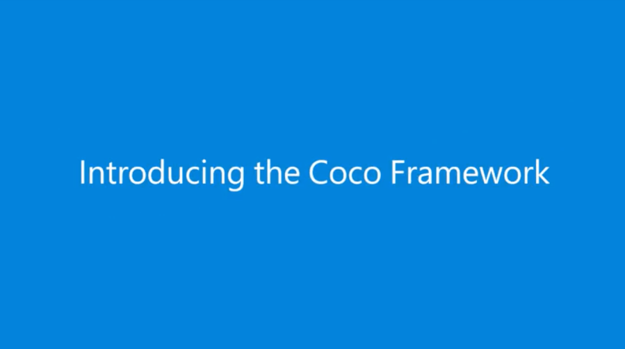 Introducing Microsoft Coco Framework for Blockchain