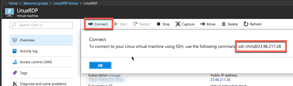 How to Setup an Ubuntu Linux VM in Azure with Remote Desktop (RDP) Access 7