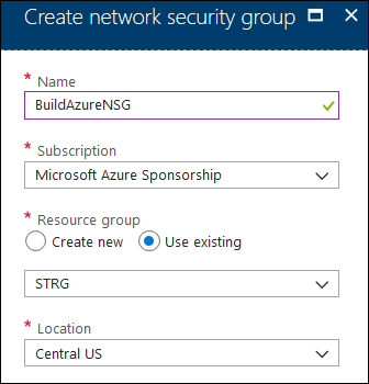 Securing Azure Virtual Machines using Network Security Groups (NSGs) 1