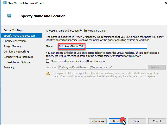 Nested VMs in Azure with one click?  You must be crazy… 13