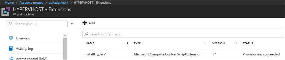 Nested VMs in Azure with one click?  You must be crazy… 5